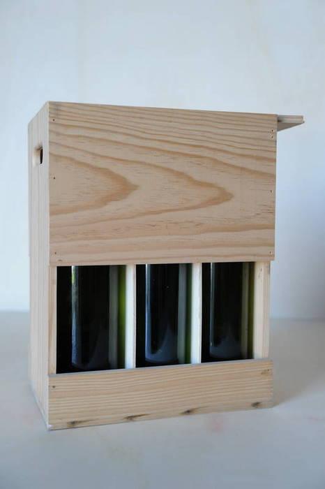 Caja con ventana para etiquetas